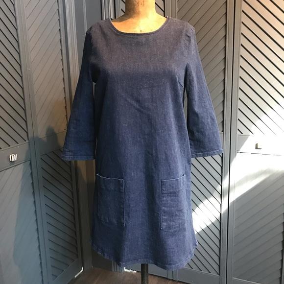 Topshop Dresses & Skirts - EUC Topshop denim dress